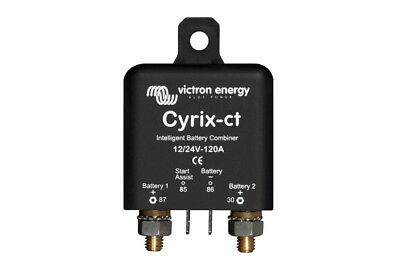 Victron Cyrix-ct 12/24V 120A Intelligent Battery Combiner 5 year warranty