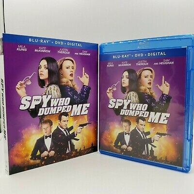 The Spy Who Dumped Me (Blu-ray / DVD, 2018, 2-Disc Set)