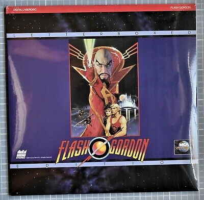 Flash Gordon - Letterboxed Edition Laserdisc - Factory Sealed