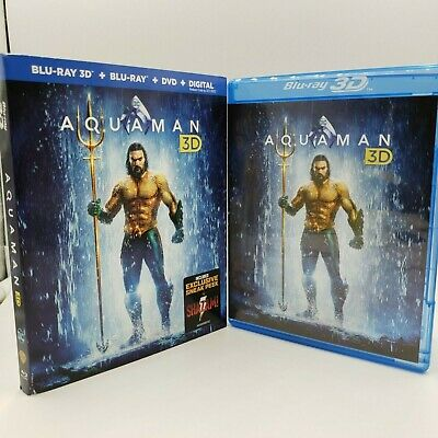 Aquaman (Blu-Ray / DVD, 2-Disc Set, 2018)