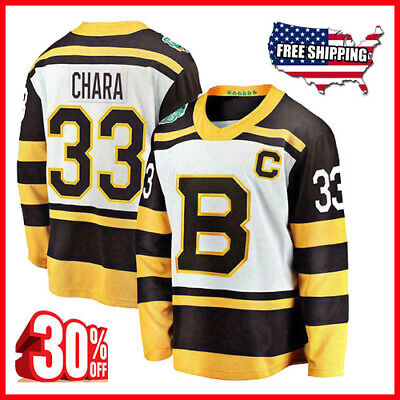 2c76251d12e NHL BOSTON BRUINS #33 CHARA Hockey Jersey New Mens Sizes - $23.99 ...