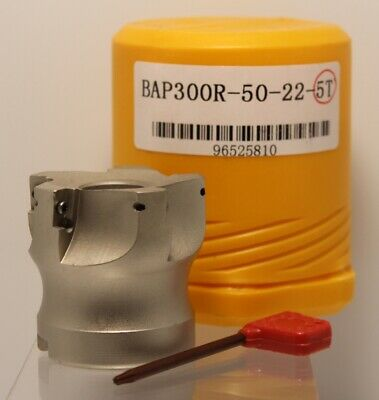 BAP300R-50-22-6T(AK)(ECO) | 50mm 22mm bore FACE MILL | light cutting | ON SALE