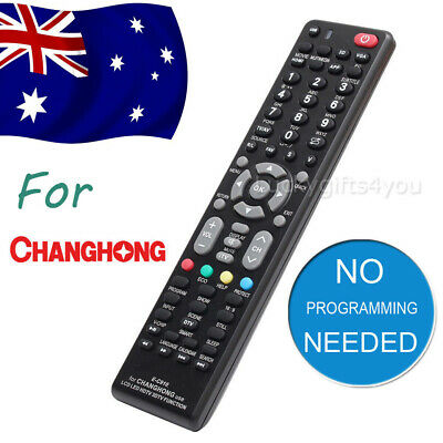 Universal Changhong TV Remote Control Replacement   3D LCD LED HDTV HD TVs AU