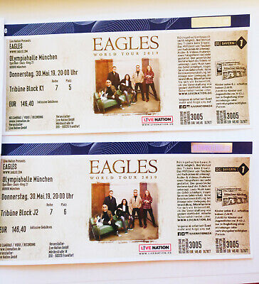 Eagles 2 x Tickets München, 30. Mai 2019