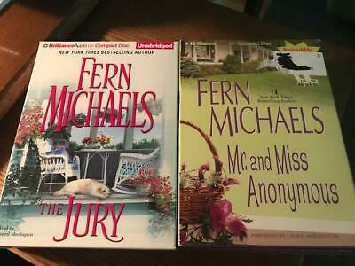 Sisterhood: The Jury & Mr & Miss Anonymous by Fern Michaels CDs, Audiobooks