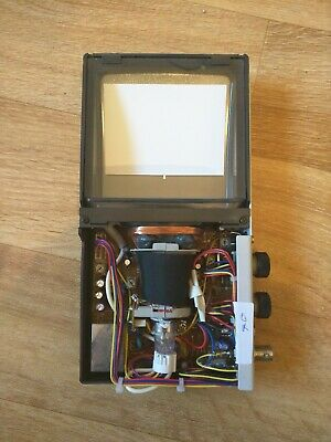 Flat CRT Display Black and White monitor arduino, raspberry pi, vintage