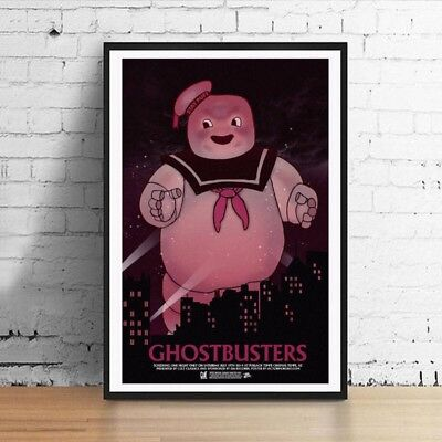 Ghostbusters Stay Puft Marshmallow  11 x 17 Movie Poster Horror Art Poster Mondo