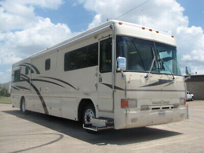 No Reserve!99 Country Coach Intrigue 40,1 Super Slide Out, 40 Ft Turbo Diesel Rv