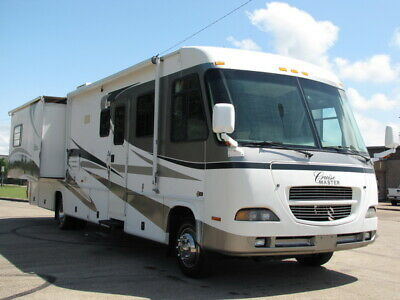 No Reserve!03 Georgie Boy Cruise Master 3600Ds,2 Slide Outs, Low Miles, 37 Ft Rv