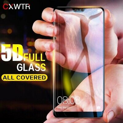 5D Full Cover Tempered Glass For Huawei P9 P10 Plus P20 Pro P9 Lite Honor 9 10