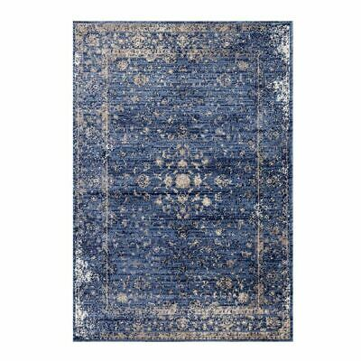 Anatolia Traditional Style Soft Area Rug Carpet in Blue and Beige ANA2817