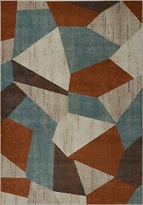 Area Rugs Abstract Multicolor Contemporary  Carpet Rugs 4x6 5x8 Hallway Runners