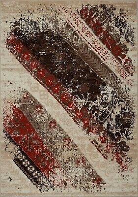 Area Rugs Abstract Multi Carpet Rugs 4x6  5x8 Hallway Runners BTN1151