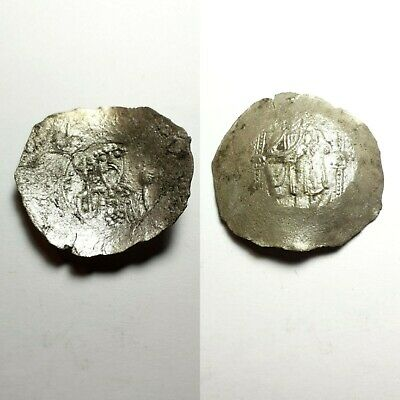 ancient Byzantine cup silver coin UNIDENTIFIED