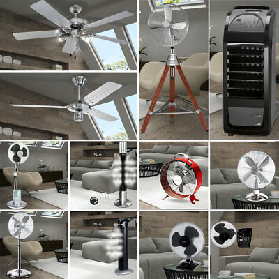 AEG Pied Stand Table Ventilateurs Lampe Plafond Salon Ventilateur Air LIVING-XXL