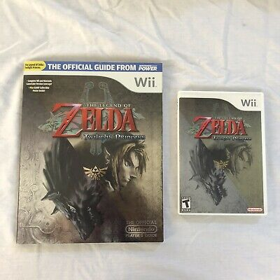 The Legend of Zelda: Twilight Princess Wii Complete CIB AND Strategy Guide