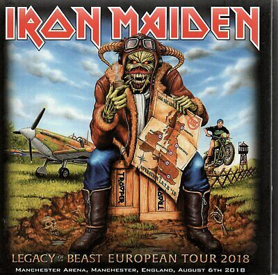 Iron Maiden - Legacy Of The Beast Tour Manchester + Sheffield 86  2Cd Digisleeve