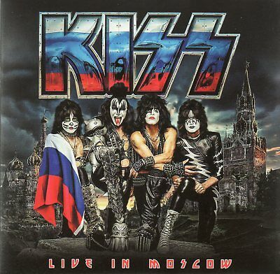 Kiss - Live In Moscow 2017 + Gene Simmons Live Usa 2018 - 2Cd Digisleeve - Rare