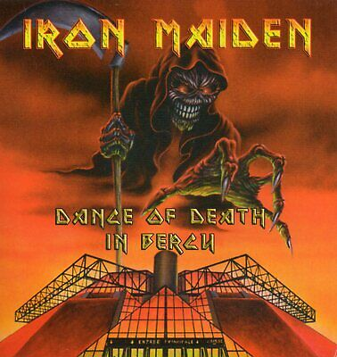 IRON MAIDEN - DANCE OF DEATH IN BERCY (LIVE PARIS 22th Nov. 2003) - CD - RARE