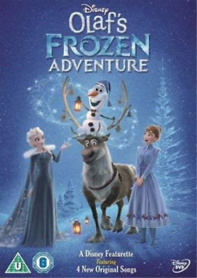 Olafs Frozen Adventure DVD NEUF