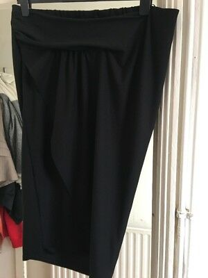 BNWT Next Size 10 Maternity Black Stretch Skirt RRP £24 (18)