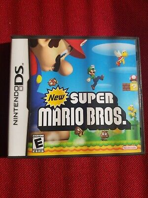 New Super Mario Bros. (Nintendo DS, 2006) Complete Tested