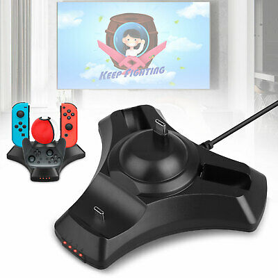 4 in 1 Charging Dock for Nintendo Switch Pro Controller/ Poke Ball Plus/ Joy-con