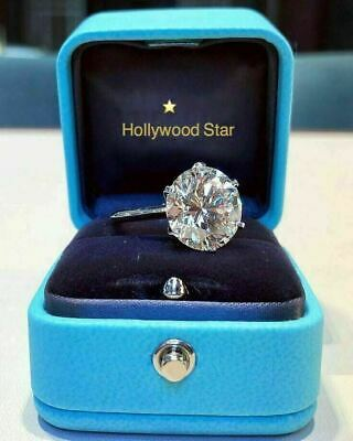 Magnificent Star Of Hollywood Diamond Ring 5Ct Celebrity Red Carpet Collection