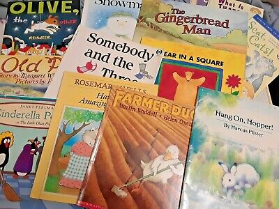 Story Time Bundle / Lot of 5 Story Books for toddlers young children kids