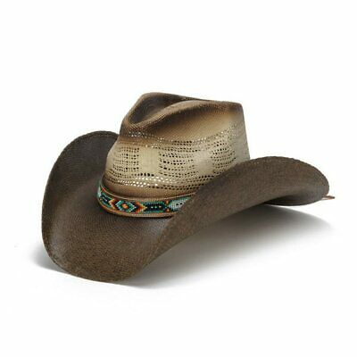 96fd57f3e STAMPEDE HATS - Lone Star Black Felt Western Hat with Brown Embossed ...