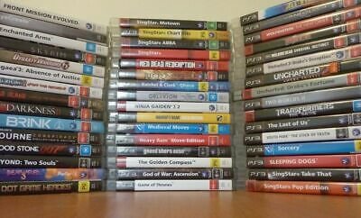 Playstation 3 Ps3 Games All Complete With Instructions