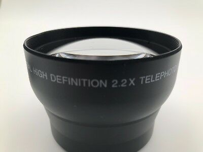 Digital Concepts Digital High Definition 2.2X Telephoto Camera Lens Japan Optics