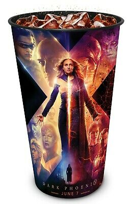 Marvel X-Men: Dark Phoenix Movie Theater Exclusive Four 44 oz Plastic Cups
