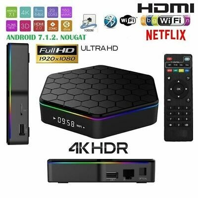 Andowl Q-6  (4GB RAM 32 GB ROM IPTV 5G Dual Band) Smart TV Box - Nero