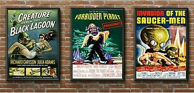 Any 3 Science Fiction Sci Fi Movie Film Posters Print Picture in A5/A4/A3