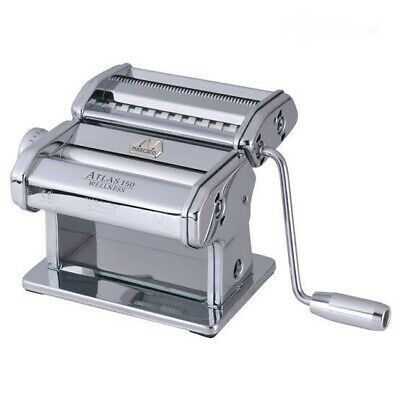 Marcato Atlas 150 Wellness Stainless Steel Pasta Machine Made in Italy RRP$184