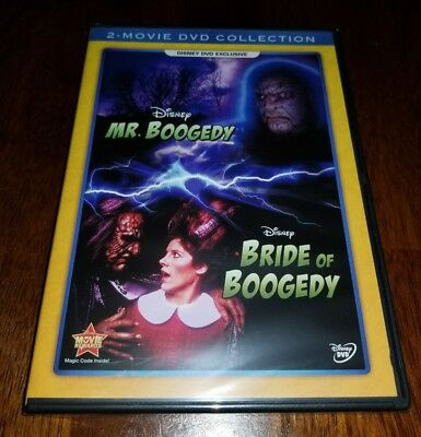 Disney Mr. Boogedy and Bride of Boogedy 2-Movie Collection DVD Brand New Sealed
