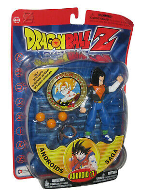 Dragon Ball Z Android 17 Androids Saga Irwin Toys Action Figure