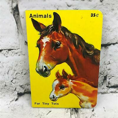 Animals For Tiny Tots Children's Board Book By Playmore Inc Publishers