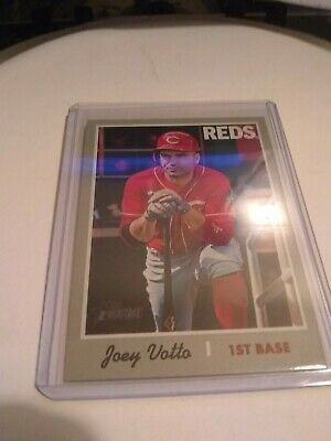 2019 Topps Heritage High Number SP #465 Joey Votto Reds