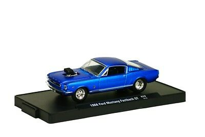 M2 Machines 1968 68 Ford Mustang Flow master Limited 1//64 Diecast S17 Promo