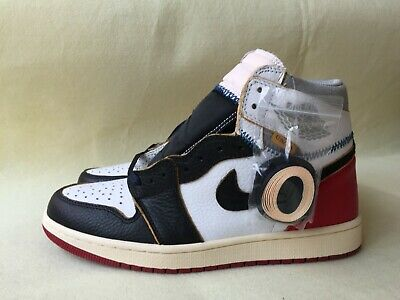 release info on bc41d 921e1 Nike Air Jordan 1 Retro High OG Size 9.5 Union Black Toe Red New BV1300-