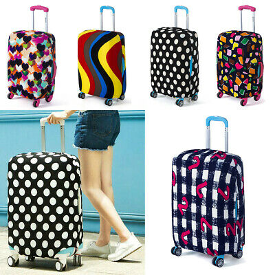"Dustproof 18""-32"" Elastic Luggage Suitcases Cover Cases Travel Trolley Protector"