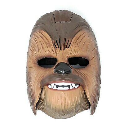 Star Wars The Force Awakens Chewbacca Wookie Electronic Mask B3226 2015 FUNNY!
