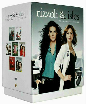 Rizzoli & Isles The Complete Series Seasons 1 2 3 4 5 6 7 (DVD, 24-Disc Box Set)