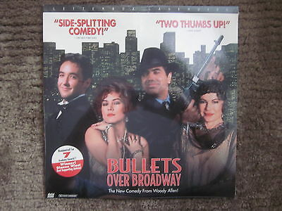 New Bullets Of Broadway Letterbox Edition Laserdisc Factory Sealed Woody Allen
