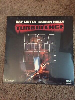 New Turbulence Ray Liotta Lauren Holly Laserdisc  Factory Sealed