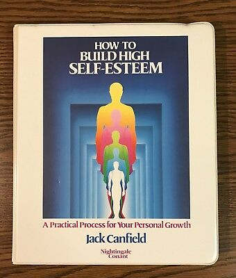 How to Build High Self-Esteem by Jack Canfield / Set of 5 Audio Cassettes Conant