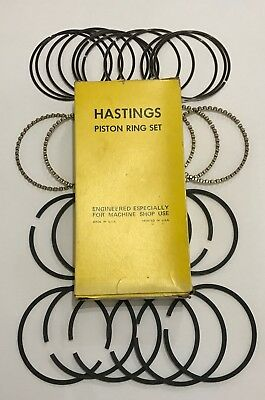 HASTINGS Moly Piston Ring Set for Chevy 305//5.0 1976-93* 5//64-5//64-3//16 STD