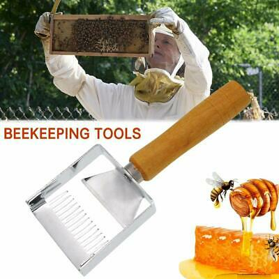 Stainless Steel Beekeeping Tools Uncapping Fork Hive Needle Honey Scraper Shovel
